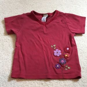 Embroidered Gymboree T-shirt